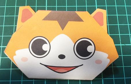 銀ちゃん折り紙